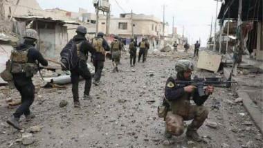 مكافحة الإرهاب يتقدم صوب المنطقة الصناعية في أيمن الموصل