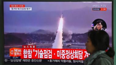 كوريا الشمالية تستقبل العهد الرئاسي في الجنوب بتجربة صاروخية