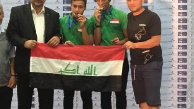 ذهبي وبرونزي للمبارزة في منافسات العرب