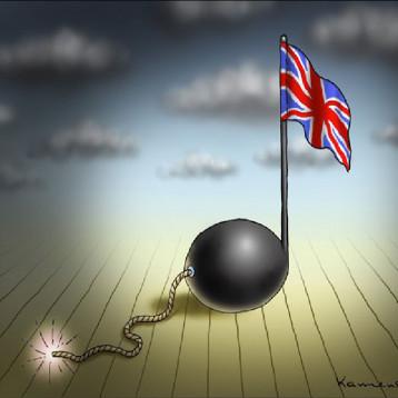 هجوم مانشستر عن موقع «كارتون سياسي»