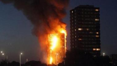 """إصابة 30 شخصاً بحريق هائل في """"غرينفيل"""" بلندن"""