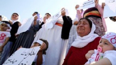 3398 إيزيدياً ما زالوا بعداد المفقودين بسبب غزو داعش لسنجار