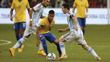 الأرجنتين والبرازيل يتأهبان لمواجهة ودية غداً تحضيراً لتصفيات المونديال