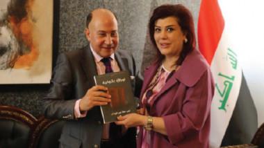 السفيرة السهيل تستقبل لهب عطا عبد الوهاب وتبحث قضايا الجالية العراقية