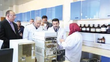 أدوية سامراء تعلن عن تصنيع مستحضرات ومستلزمات طبية جديدة