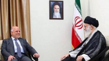 العبادي يلتقي الخامنئي في طهران وروحاني يؤكد الرغبة بزيادة التعاون