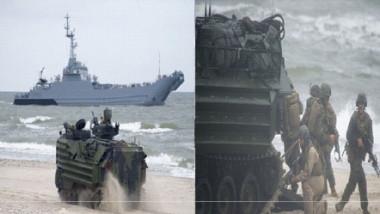 القاذفات الأميركية الأسرع من الصوت تشارك في تدريبات عسكرية في البلطيق