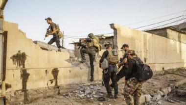 القوّات المشتركة تستعيد 90 % من حي الزنجيلي وتقترب من باب سنجار في أيمن الموصل