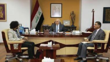 المخرج العراقي محمد الدراجي في ضيافة وزير الثقافة