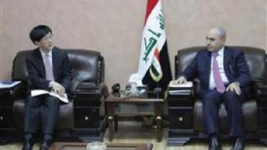 العراق يبحث إسهام الشركات الكورية في إعمار المناطق المحررة