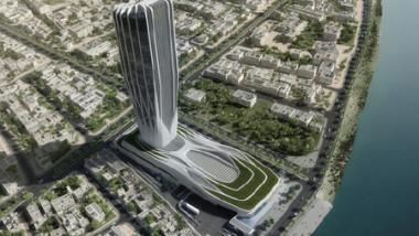 مبنى «البنك المركزي» هو أول مشروع تقوم بتصميمه زها حديد داخل العراق