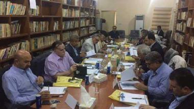 """تواصل اجتماعات اللجنة العليا لبغداد """"مدينة الإبداع الأدبي"""""""