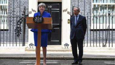 تيريزا ماي تتعهد بأن تكون رئيسة للوزراء لمدة خمسة أعوام أخرى