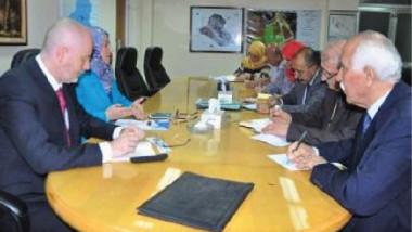 العراق يبحث مع ممثل منظمة اليونسكو دعم وتطوير القطّاع الزراعي