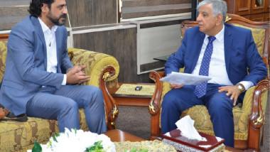 وزير النفط يوعز بتلبية احتياجات أيتام مؤسسة البيت العراقي للابداع