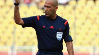 علي صباح يدير مباريات  البطولة العربية للأندية