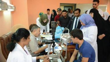فريق طبي أجنبي بجراحة العيون يجري عمليات معقدة مجاناً في بغداد