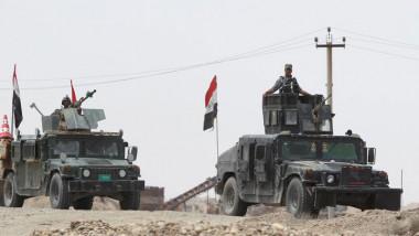 """قوّات الرد السريع تدمّر مقراً لقيادة """"داعش"""" في حي الزنجيلي بأيمن الموصل"""