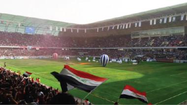 عبطان يتفقد ملعب كربلاء ويطّلع على آخر الاستعدادات لاختبار رفع الحظر الثاني