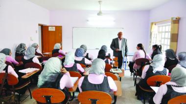 أول مدرسة متوسطة حكومية للبنات في بغداد