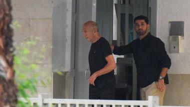 إطلاق سراح رئيس الوزراء الإسرائيلي السابق ايهود أولمرت