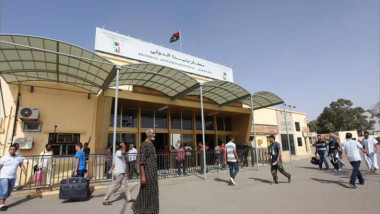 إعادة فتح مطار بنغازي بعد إغلاقه ثلاث سنوات في أثناء الحرب