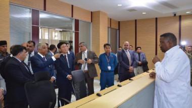 إنجاز مشروع الأبنية الخدمية لشركة مصافي الوسط في بغداد
