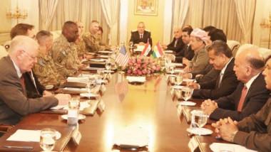 أميركا تربط استمرار دعم البيشمركة ببقاء الإقليم ضمن عراق موحد