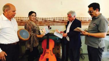 افتتاح أول معرض للآلات الموسيقية في بيت العود