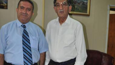 الشاعر ياسين طه حافظ ضيف الثقافة والنشر الكردية