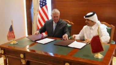 تيلرسون يجتمع في جدة مع وزراء الدول  الأربع المقاطعة لقطر لدعمها الارهاب