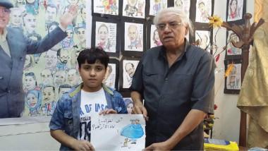 تخرّج 21 مشتركاً في أول دورة لرسم الكاريكاتير
