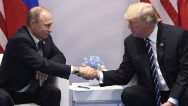 الاجتماع الأول التأريخي بين ترامب وبوتين  ينتهي باتفاق على تهدئة الحرب السورية
