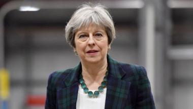 تيريزا ماي تدعو إلى إقامة شراكة اقتصادية فريدة وطموحة مع الاتحاد الأوروبي