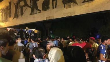 إعلان النصر على داعش يحيل سماء بغداد إلى عرس بهيج