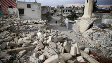 قتال وضربات جوّية في منطقة الهدنة شرقي دمشق