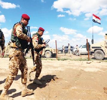 انطلاق عمليات عسكرية واسعة لتطهير صحراء الأنبار الغربية من زمر داعش