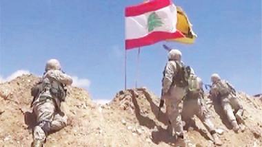 """""""حزب الله"""" ينتزع مناطق كان يحتلها مسلحو هيئة تحرير الشام في جرود عرسال"""