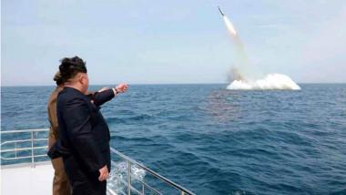 كوريا الشمالية تعلن اختبار صاروخ باليستي عابر للقارات بنجاح