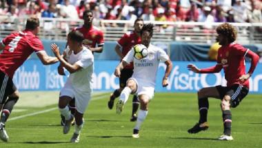 مانشستر يونايتد يهزم ريال مدريد في بروفة السوبر الأوروبي