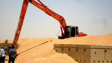 مناقلة 270 الف طن من الحنطة المحلية من واسط وكركوك