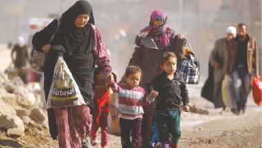 المنظمة الدولية للهجرة في العراق تواصل تقديم المساعدات لآلاف النازحين من الموصل