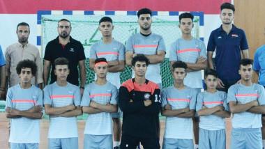 المركز الوطني في ميسان يخطف كأس بطولة الموهوبين بكرة اليد