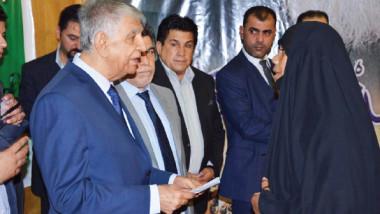 «النفط» تكرّم 300 من عائلات شهداء الحشد الشعبي في بغداد