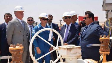 افتتاح رصيف رقم 3 لتحميل وتصدير الغاز في خور الزبير