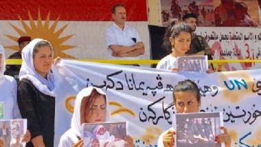 الإيزيديون يحيون الذكرى الثالثة لفاجعة سنجار