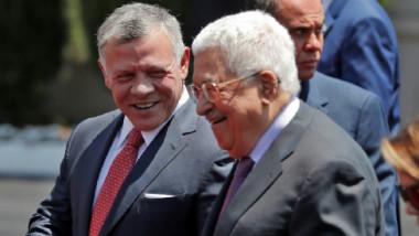 العاهل الأردني في زيارة نادرة الى رام الله  للقاء عباس وسط توتر مع إسرائيل
