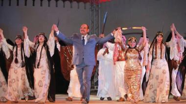 الفرقة الوطنية للفنون الشعبية تقدم لوحة (سينما)