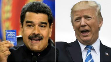 ترامب يتحدث عن خيار عسكري ممكن في فنزويلا