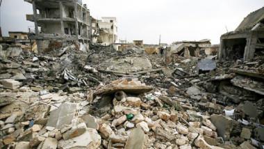 """ساحل الموصل الأيمن يرزح تحت ركام الخراب بفعل جرائم """"داعش"""""""